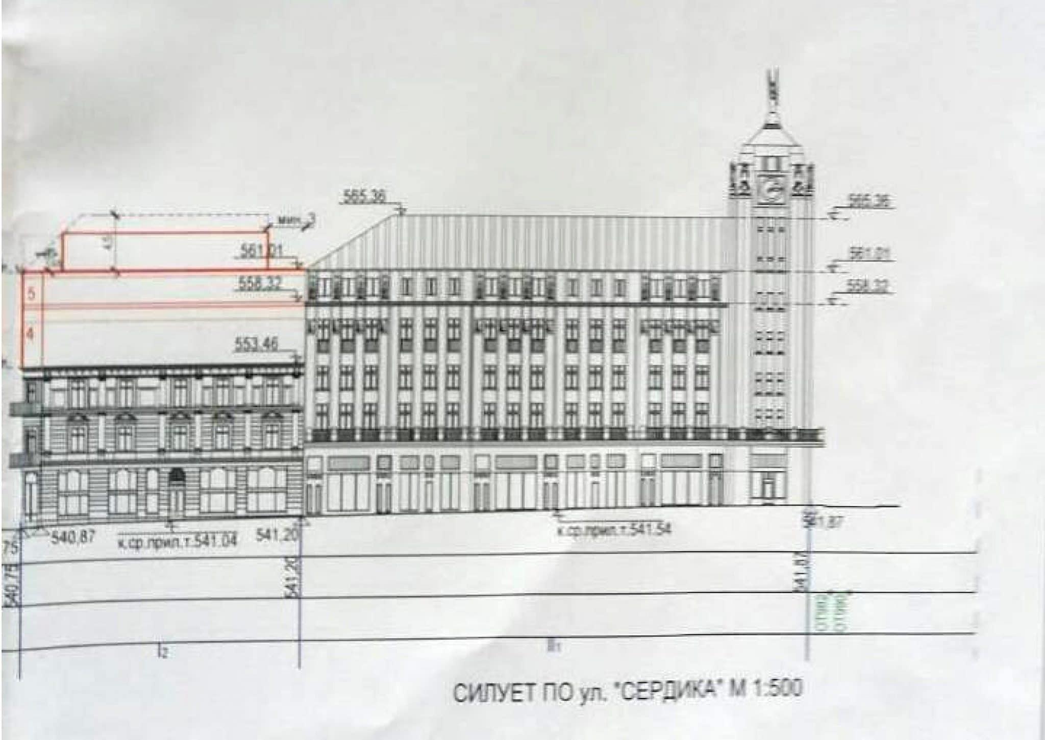 Възможност за надстрояване на 2 етажа